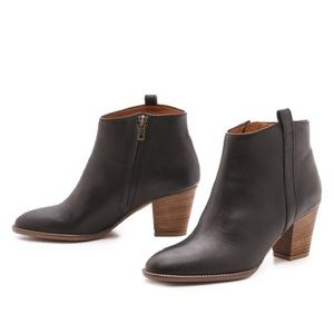 Madewell Bille Leather Booties